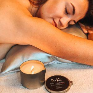Bougie de massage Monoi MAT & AMANDINE