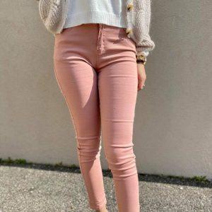 Jeans rose femme