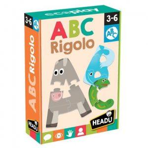 JEUX ENFANTS ABC RIGOLO- HEADU