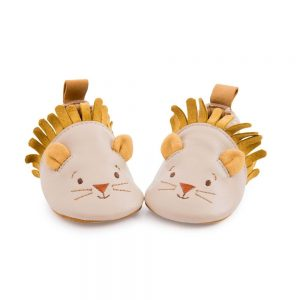 Chaussons_cuir_lion_beige_Sous_mon_baobab_6-12_mois_-_Moulin_Roty_1
