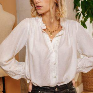 blouse-naemie-ecru la petite etoile