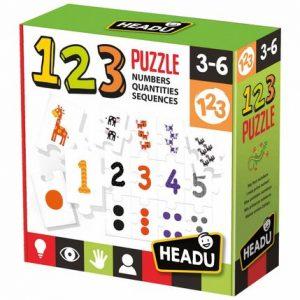 JEUX ENFANTS 123 PUZZLE -HEADU