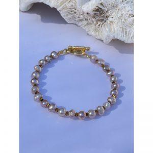 bracelet pierre rose la balinaise
