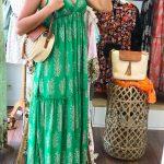 robe stella GOA robe longue verte
