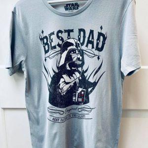 tee shirt star wars best dad