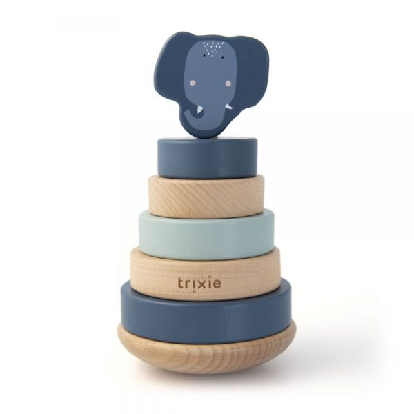 tour a empiler en bois éléphant trixie