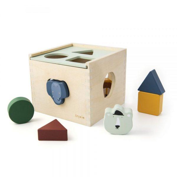 boite a formes trixie jouet en bois