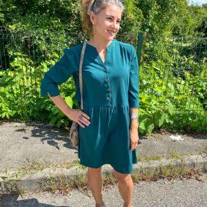 Robe Darlene vert - La petite etoile
