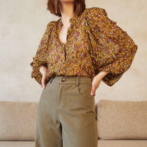 blouse-deloras-kaki GRACE ET MILA