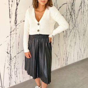 Gilet Karie ecru - vero moda
