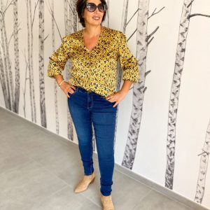 Blouse Kate moutarde - pieces