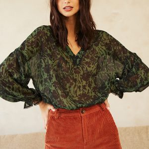 blouse-danae-kaki-grace et mila