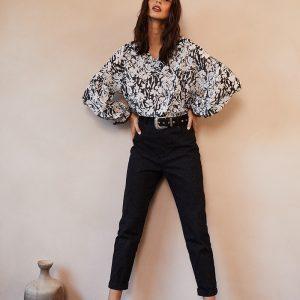 blouse-danae-noir-grace et mila