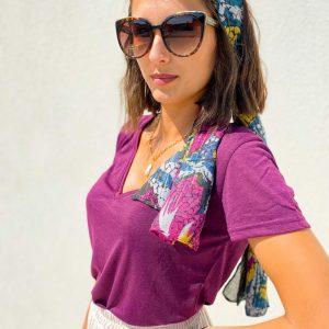 T-shirt Elvie violet - la petite etoile