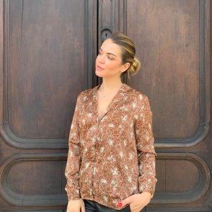 chemise santana - marron - la petite etoile