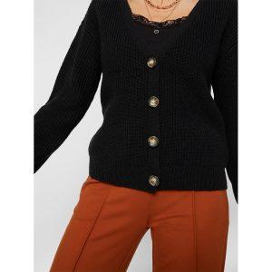 pieces-cardigan-karie-noir - 10200685