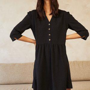 robe-darlene-noir-grace et mila